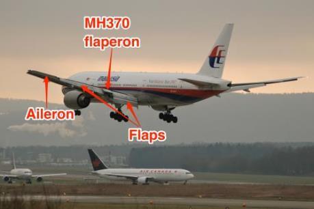 Máy bay mất tích MH370 của Malaysia có thể rơi không kiểm soát