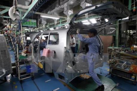 Doanh số bán ô tô của Nhật Bản sụt giảm trong tháng 10/2016