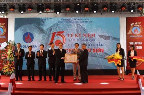 Viglacera Tiên Sơn vượt trên 150% kế hoạch sản xuất kinh doanh
