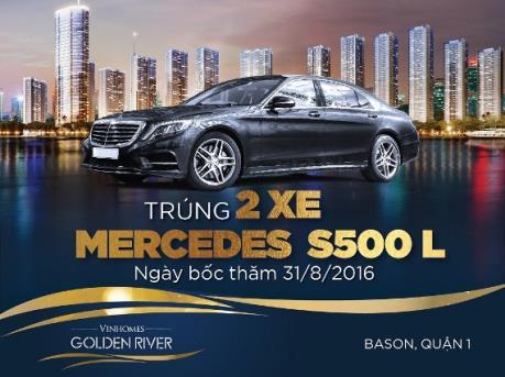 Cơ hội sở hữu bộ đôi đẳng cấp – Căn hộ Vinhomes Golden River & Mercedes S500L