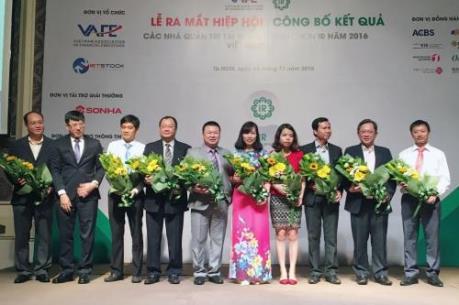 Ra mắt Hiệp hội các nhà quản trị tài chính Việt Nam