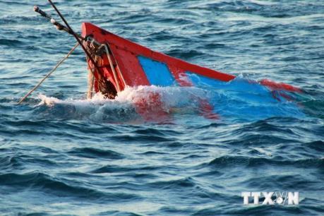 Bình Thuận: 7 tàu cá bị chìm do ảnh hưởng của áp thấp nhiệt đới