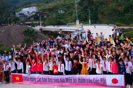 Khánh thành cầu Cốc Pài, thúc đẩy kinh tế Hà Giang - Lào Cai