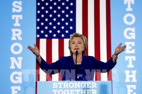 """Bầu cử Mỹ 2016: Bà Clinton vận động tranh cử quy mô lớn tại bang """"chiến địa"""" Pennsylvania"""