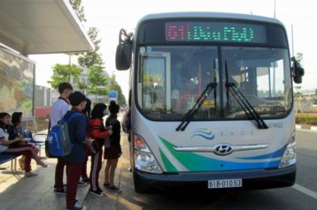 Xe buýt kiểu Nhật được nhiều người yêu thích