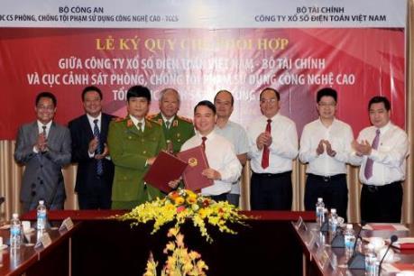 Vietlott và C50 ký kết phối hợp phòng chống tội phạm công nghệ cao
