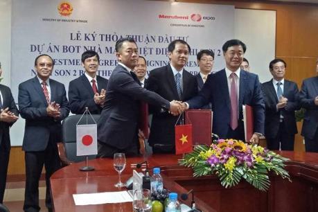 Ký kết đầu tư nhà máy nhiệt điện Nghi Sơn 2