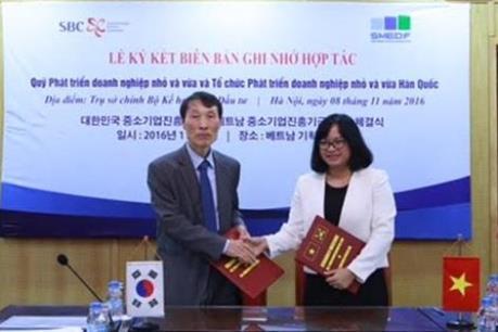Thúc đẩy phát triển doanh nghiệp nhỏ và vừa Việt Nam - Hàn Quốc