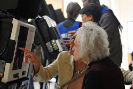 Những hình ảnh đầu tiên về bầu cử Tổng thống Mỹ