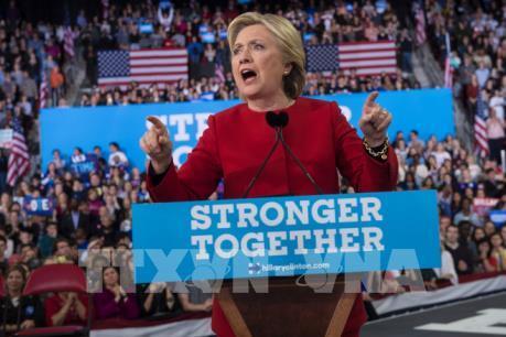 Bầu cử Mỹ 2016: Bà H.Clinton giành chiến thẳng tại bang Virginia và Colorado