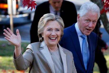 Bầu cử Mỹ 2016: Bà H.Clinton vượt lên dẫn trước với cách biệt hai con số