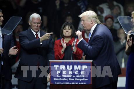 """Bầu cử Mỹ 2016: Ông D.Trump thắng tại 2 bang """"chiến địa"""""""