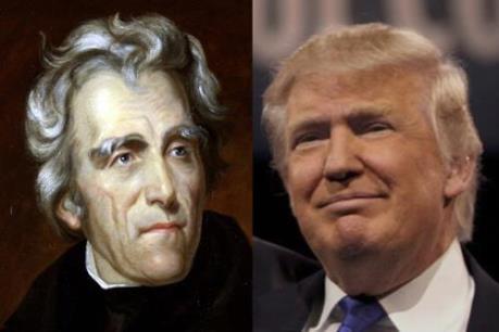 Tương đồng thú vị giữa tân Tổng thống Donald Trump và Tổng thống thứ 7 Andrew Jackson