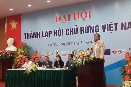 Thành lập Hội Chủ rừng Việt Nam
