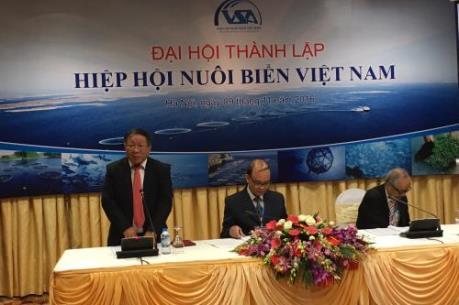 Thành lập Hiệp hội nuôi biển Việt Nam