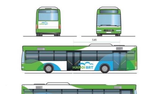 Giữa tháng 12, Hà Nội sẽ chạy thử tuyến xe buýt nhanh đầu tiên