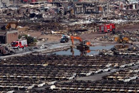 Trung Quốc kết án 49 người trong vụ nổ kho hóa chất ở Thiên Tân