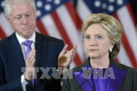 Bầu cử Mỹ 2016: Bà H.Clinton kêu gọi người dân Mỹ hướng tới tương lai