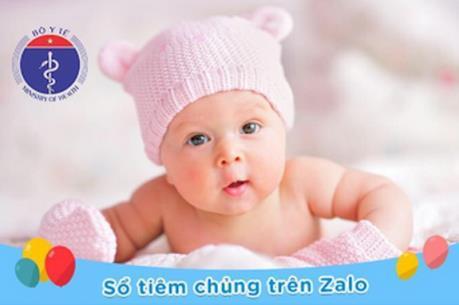 Bộ Y tế hướng dẫn sử dụng sổ tiêm chủng của trẻ trên Zalo
