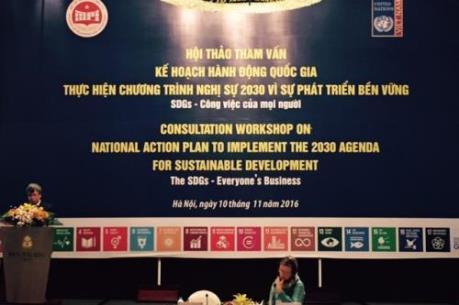 Việt Nam đã cụ thể hóa việc thực hiện Chương trình nghị sự 2030