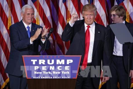 Tổng thống đắc cử D.Trump đảm bảo sự hiện diện mạnh mẽ của Mỹ tại châu Á-Thái Bình Dương