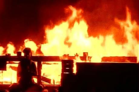 Cháy một xưởng may ở Ấn Độ khiến ít nhất 15 người thiệt mạng