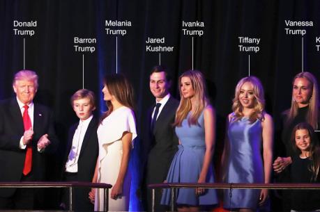 Tiết lộ những điều ít biết về gia đình đệ nhất mới của nước Mỹ