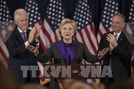 Bà H.Clinton và ông D.Trump nhận định về kết quả bầu cử Tổng thống Mỹ