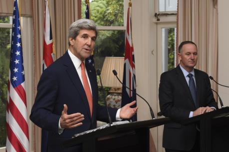 Ngoại trưởng Kerry khẳng định nỗ lực chống biến đổi khí hậu của Mỹ