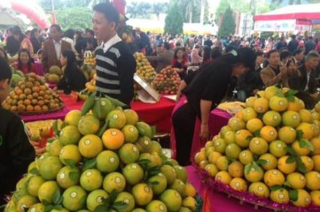 Khai mạc Lễ hội cam Cao Phong lần thứ 2