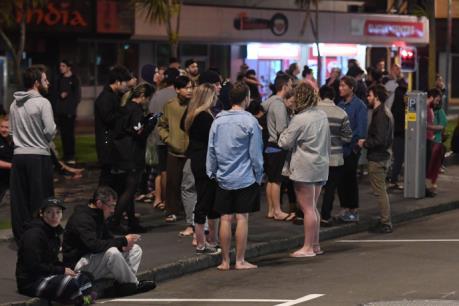 Động đất mạnh 7,8 độ Ríchte tại New Zealand