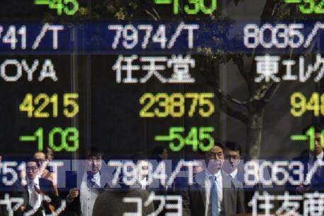 Đồng USD ngày 14/11 mạnh lên kéo chứng khoán châu Á đi xuống