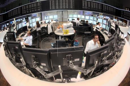 Thị trường chứng khoán Âu-Mỹ phần lớn đi lên