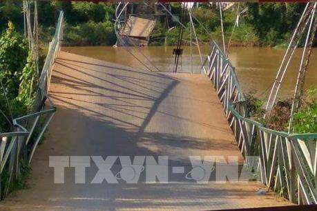 Tin mới nhất vụ sập cầu treo Tà Lài, Đồng Nai