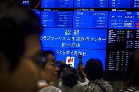 Chứng khoán của Nhật Bản tăng, chứng khoán Trung Quốc giảm