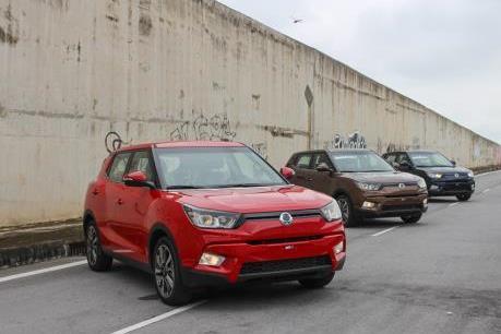 SsangYong Việt Nam giảm giá xe và dịch vụ cho khách dịp cuối năm