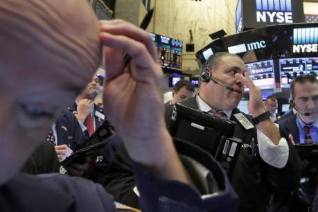 Thị trường chứng khoán Âu - Mỹ phần lớn đi xuống