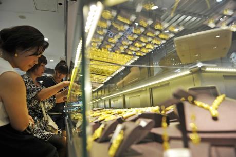 Giá vàng hôm nay 17/11 tăng giảm trái chiều