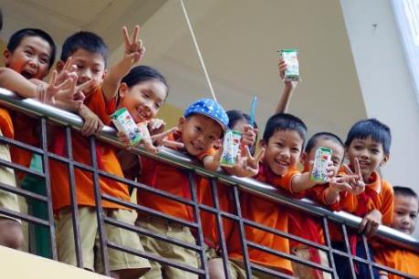Vinamilk tiên phong đi đầu trong chương trình Sữa học đường, vì một Việt Nam vươn cao
