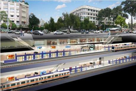 Gần 5.000 tỷ đồng xây dựng đoạn ngầm ga Bến Thành đến ga Nhà hát tuyến metro số 1