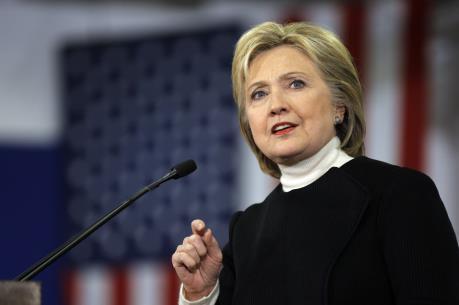 Bà Hillary Clinton kêu gọi người dân Mỹ khép lại chia rẽ
