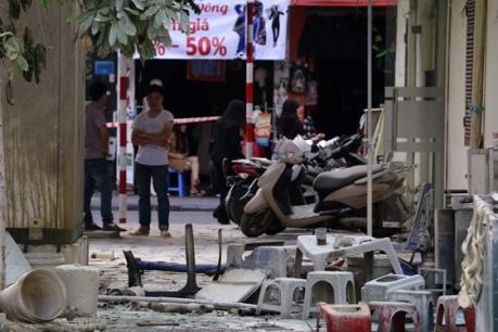 Hà Nội: Nổ trạm biến thế tại Hà Đông, 5 người bị bỏng nặng