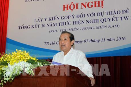 Phó Thủ tướng Trương Hòa Bình yêu cầu làm rõ một số vấn đề phản ánh trên báo chí