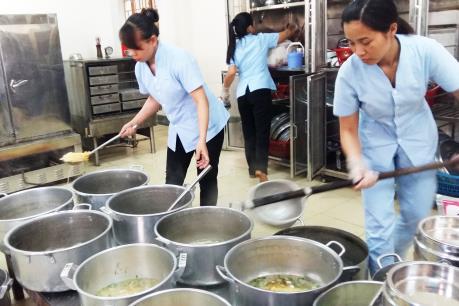 Quản lý chặt bếp ăn khu công nghiệp