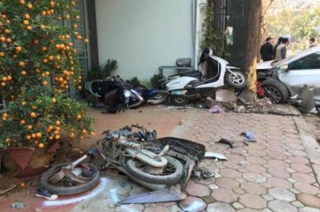 Hoàn tất cáo trạng vụ xe Camry gây tai nạn liên hoàn tại phường Bồ Đề, Hà Nội