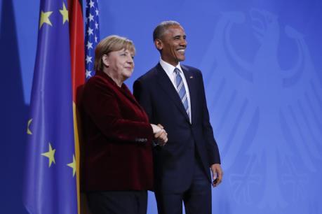 TTIP - chủ đề trọng tâm của cuộc họp giữa bà Merkel và ông Obama