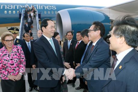 Chủ tịch nước Trần Đại Quang tham dự Tuần lễ Cấp cao APEC 2016