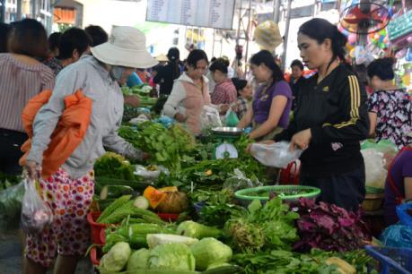 Giá rau sạch tăng cao những ngày giáp Tết