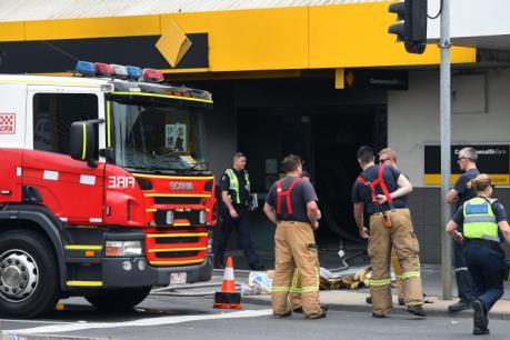 Cháy ngân hàng ở ngoại ô Melbourne khiến 27 người bị thương
