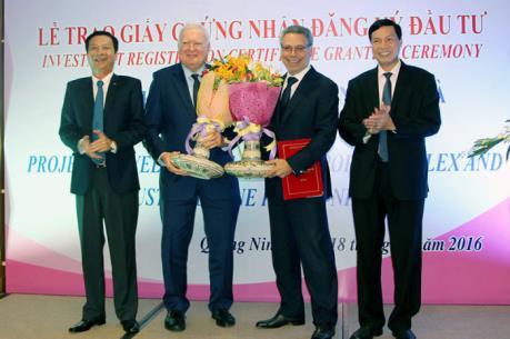 Hơn 300 triệu USD đầu tư vào dự án phát triển tổ hợp cảng biển ở Quảng Ninh